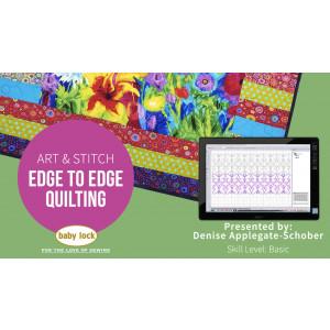 Art & Stitch: Edge to Edge Quilting