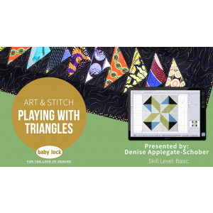 Art & Stitch: Playing with Triangles