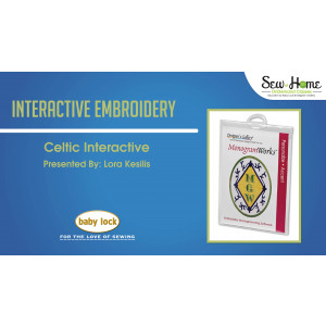 Interactive Embroidery - Celtic Interactive