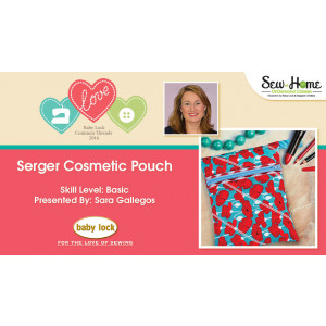 Project: Serger Cosmetic Pouch