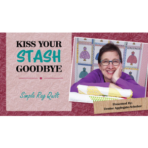 Kiss Your Stash Goodbye: Simple Rag Quilt
