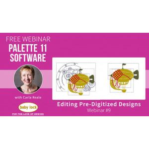 Palette 11 Webinar #9 - Editing Pre-Digitized Designs