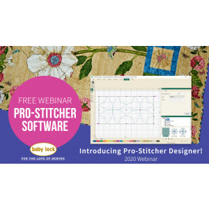 Introducing Pro-Stitcher Designer Software Webinar