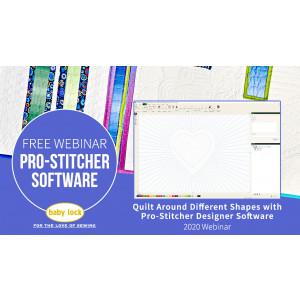 Quilt Around Different Shapes with Pro-Stitcher Designer Software