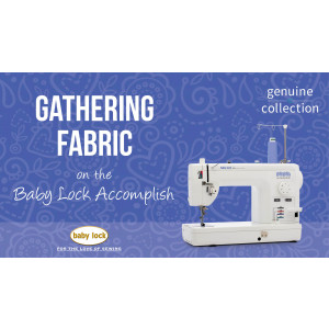 Accomplish - Gathering Fabric