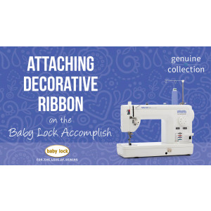 Accomplish - Attaching Decorative Ribbon