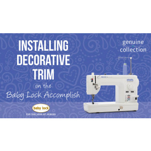 Accomplish - Installing Decorative Trim