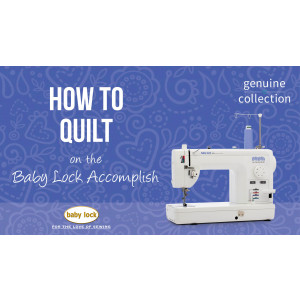 Accomplish - How to Quilt