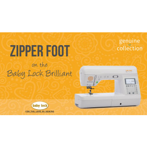 Brilliant - Zipper Foot