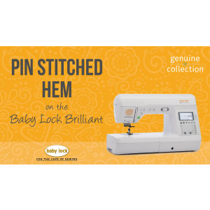 Brilliant - Pin Stitched Hem