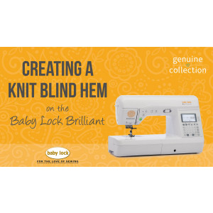 Brilliant - Creating a Knit Blind Hem