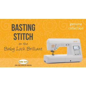 Brilliant - Basting Stitch