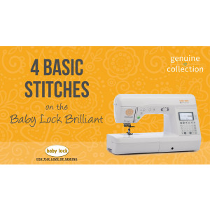 Brilliant - 4 Basic Straight Stitches