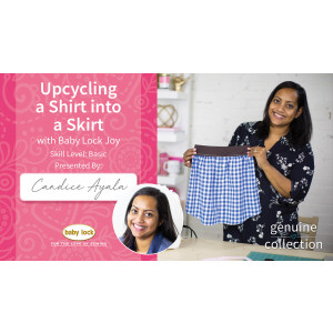 Upcycling a Shirt into a Skirt with Baby Lock Joy
