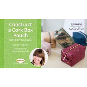 Construct a Cork Box Pouch with Jessica Kapitanski