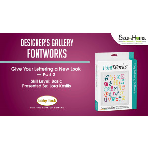 FontWorks - Give Your Lettering a New Look Part 2
