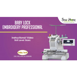 Embroidery Professional EMP6 Introduction Video