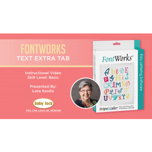 FontWorks - Text Extra Tab