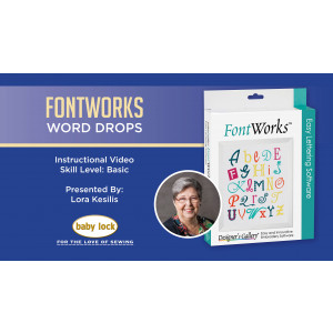FontWorks - Word Drops