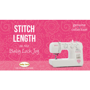 Joy - Stitch Length