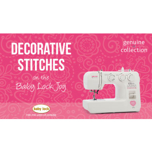 Joy - Decorative Stitches