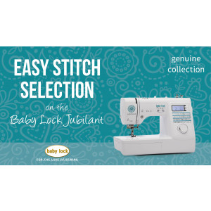 Jubilant - Easy Stitch Selection