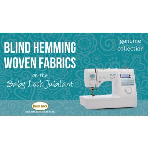 Jubilant - Blind Hemming Woven Fabrics