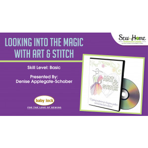 Looking Into the Magic with Art and Stitch