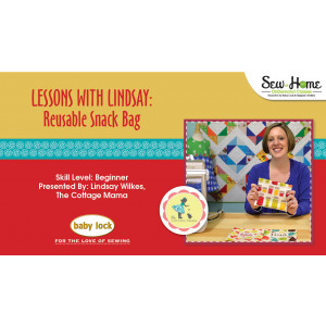 Lessons With Lindsay - Reusable Snack Bag