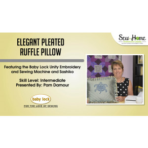 Project: Elegant Pleated Ruffle Pillow