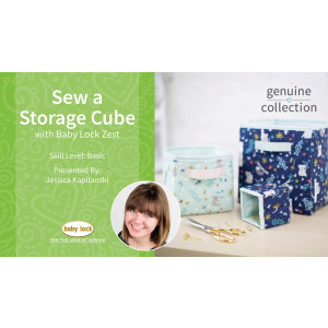Sew a Storage Cube with Jessica Kapitanski