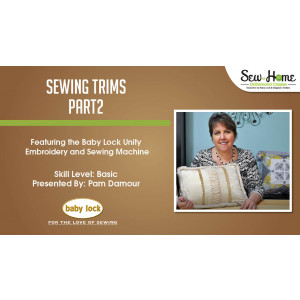 Sewing Trims - Part 2