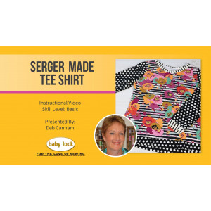 Serger Made Tee Shirt with Deb Canham