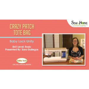Project: Crazy Patch Tote Bag