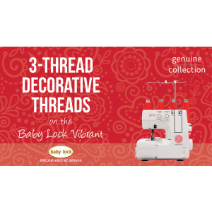 Vibrant - 3-Thread Decorative Threads