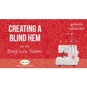 Vibrant - Creating a Blind Hem