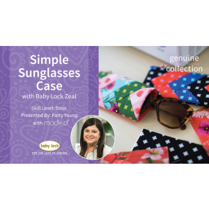 Simple Sunglasses Case with Patty Young from Modkid®