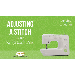 Zest - Adjusting a Stitch