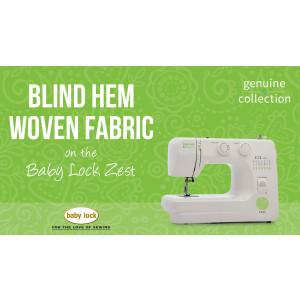 Zest - Blind Hem Woven Fabric