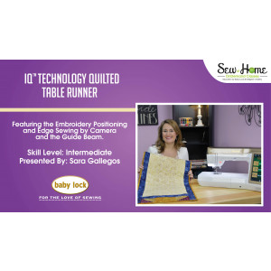 Project: IQ Technology Quilted Table Runner