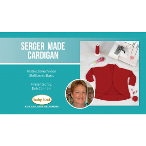 Serger Made Cardigan with Deb Canham