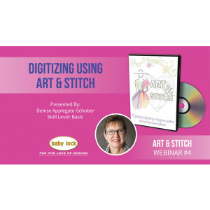 Art and Stitch Webinar: Digitizing Using Art and Stitch