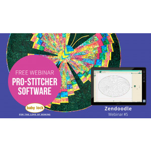 Pro-Stitcher Webinar 5 - Zen Doodle with Pro-Stitcher
