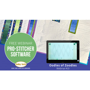 Pro-Stitcher Webinar: Oodles of Zoodles - November 2019