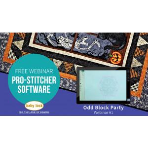 Pro-Stitcher Webinar: Odd Block Party - February 2019