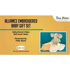 Project: Alliance Embroidered Baby Gift Set