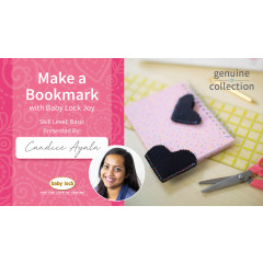 Make a Bookmark with Baby Lock Joy