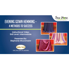 Evening Gown Hemming - 4 Methods to Success