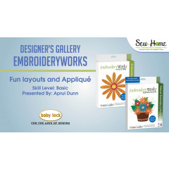EmbroideryWorks - Fun Layouts and Applique