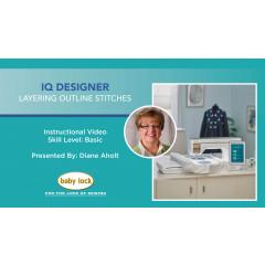 IQ Designer - Layering Outline Stitches - Solaris